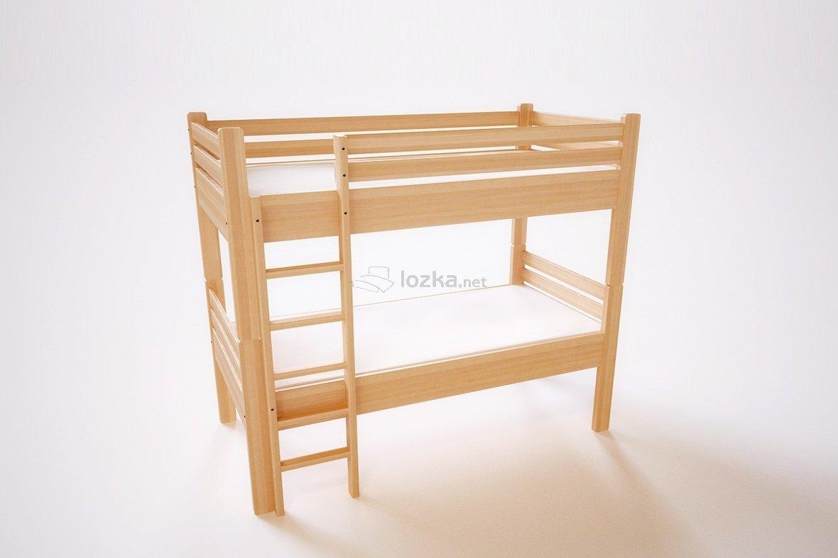 łóżko Piętrowe Z Barierkami Rozkładane Na Dwa Kamil Bukowe
