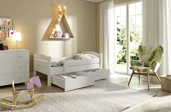 łóżka Drewniane Dla Dzieci łóżeczka Dziecięce Lozkanetpl